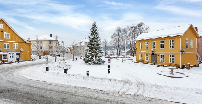 Torget - samlingsstedet i Drøbak Sentrum