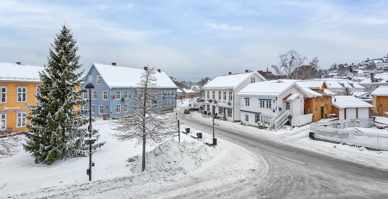 Torget i Drøbak