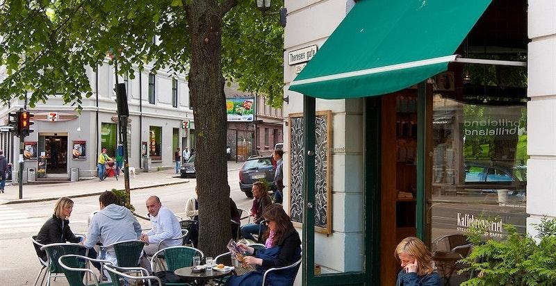 Nærområdet - Kaffebrenneriet i Theresesgate
