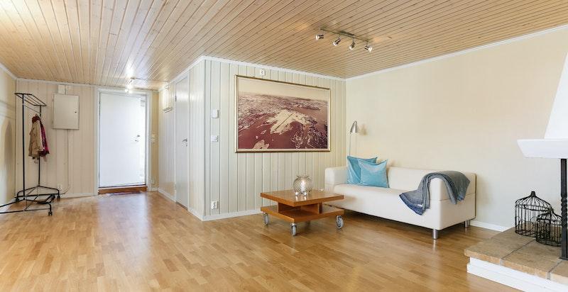 Stue hybeldel i hovedhus