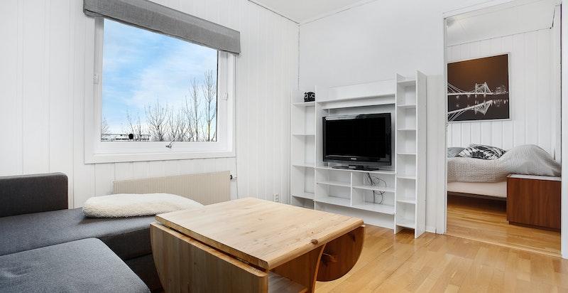 Tv-stue og soverom nr. 4 innenfor