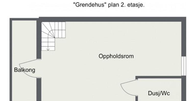 Ullernveien 20 - Grendehus 2. Etasje