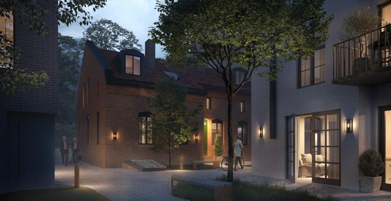 Byreparasjon på sitt beste - Stallbygning bygges om til enebolig - gammel industribygning får nytt liv som 4 leiligheter med sjarm og særpreg