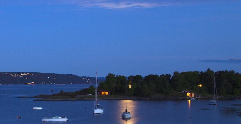 Kveldsbilde utsikt