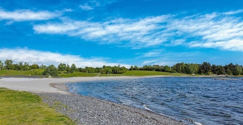 Nærområdet - Storøya badestrand