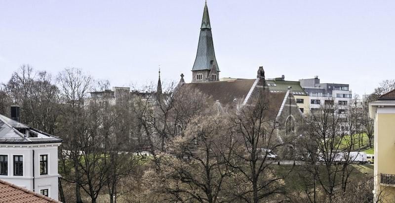 -Flott utsikt mot Stensparken-