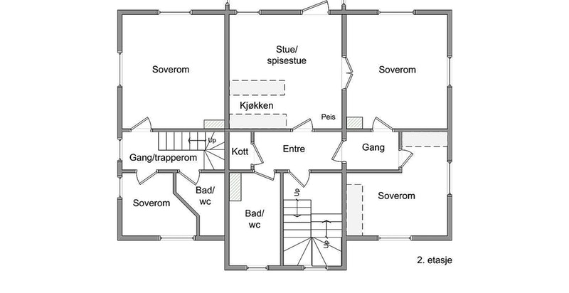 Eilert Sundts gate 9, 2. etasje