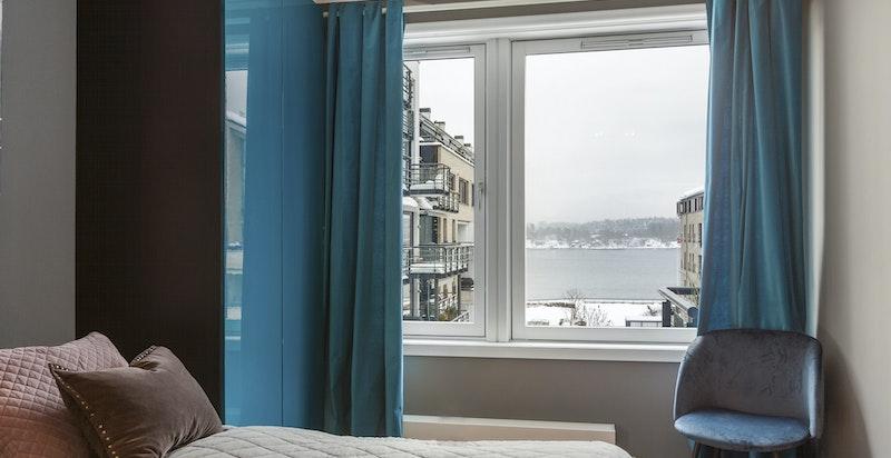 Utsikt fra master bedroom