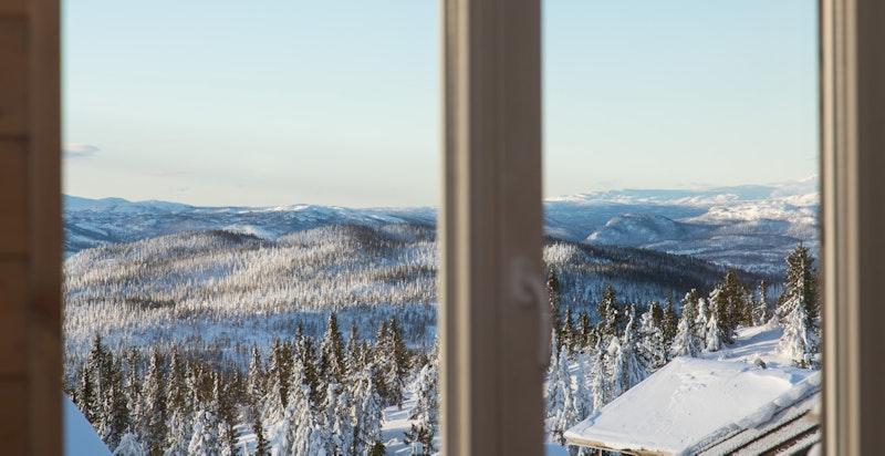 Utsikt fra stuevinduet