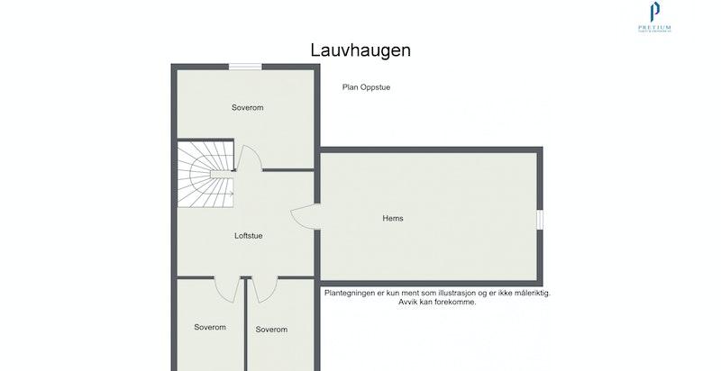 Lauvhaugen - 2. Etasje