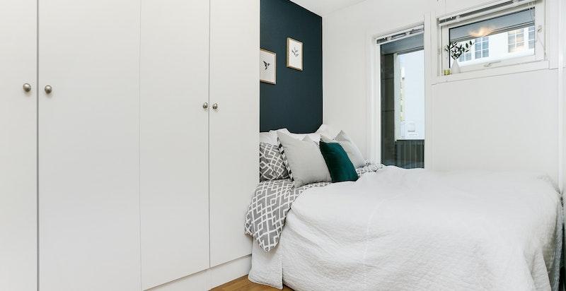 Romslig soverom med god garderobeplass