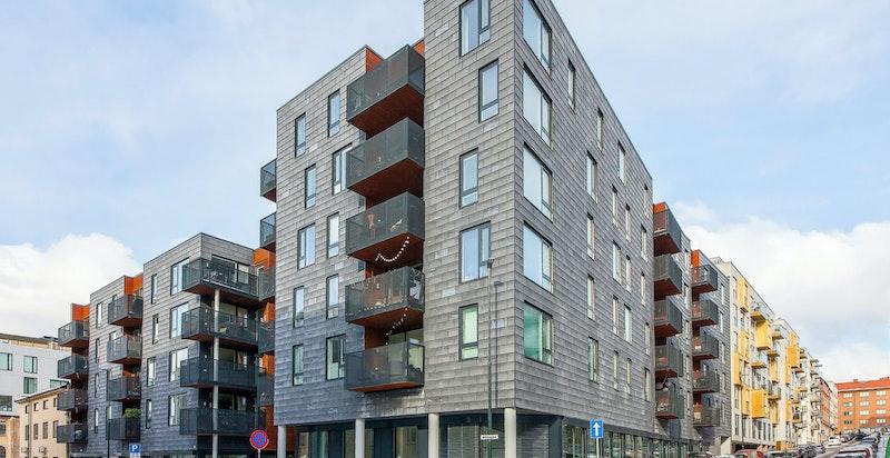 Moderne bygård fra 2016
