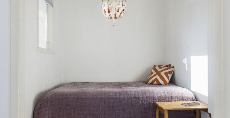 Sovealkove med plass til dobbeltseng