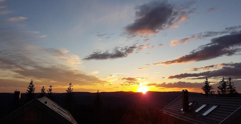 Spektakulære solnedganger