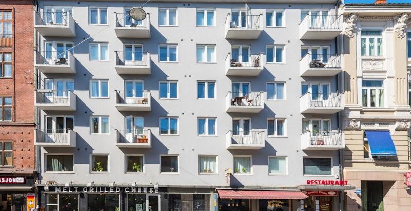 Fasade, Waldemar Thranes gate 8