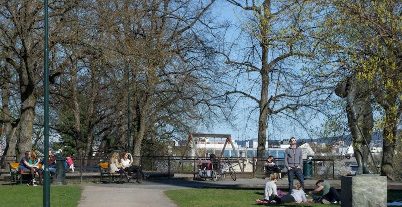 Nærområde - Uranienborgparken