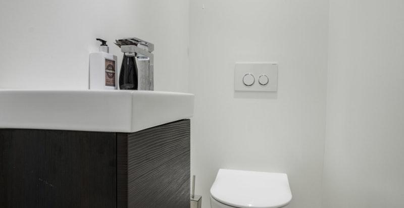 Separat wc - u. etasje