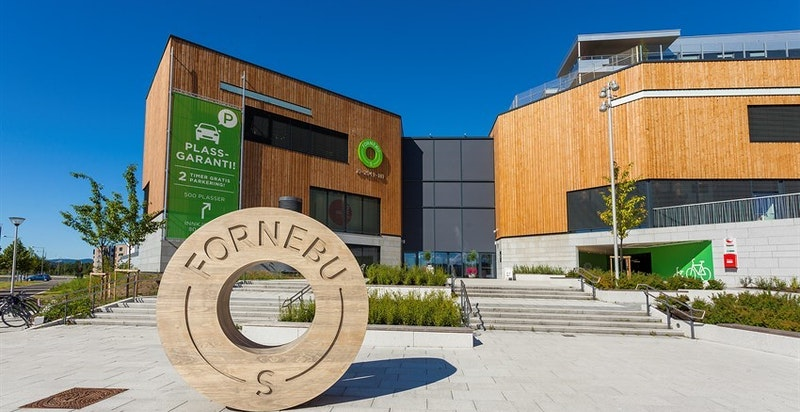 Fornebu Senter med over 80 butikker og et mangfold av forretningstilbud