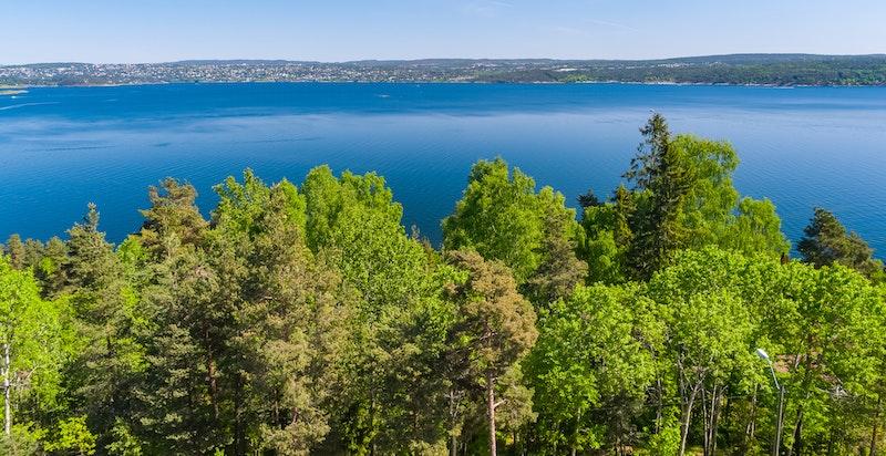 -Utsikt mot Bunnefjorden -