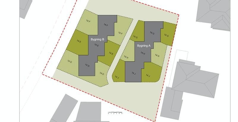 S-13 Vedtektfestet arealfordeling av uteområder