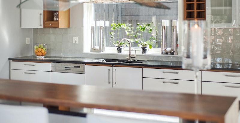 Hyggelig barløsningen i tilknytning til kjøkkenøy
