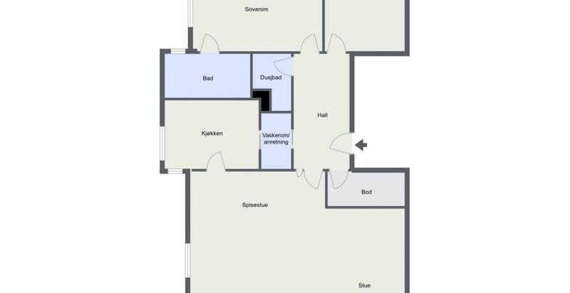 Holmenveien 5 A, seksjon 12 - 2. Etasje