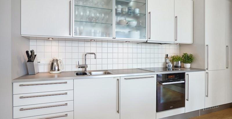 Kjøkken med innredning fra HTH.