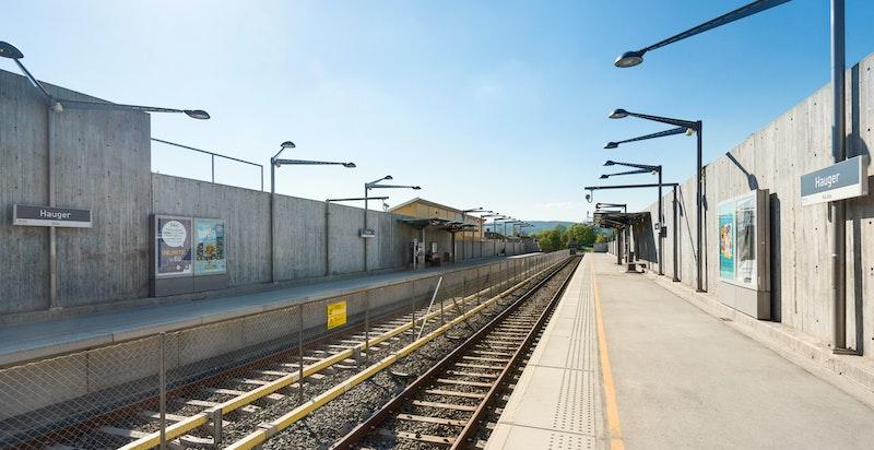 Hauger stasjon (Kolsåsbanen)