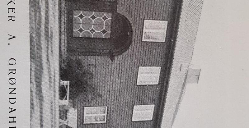 Foto fra boken om arkitekt Lars Backer