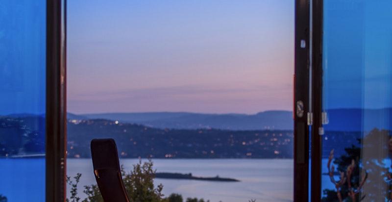 Du finner svært sjelden en utsikt som kan måle seg med denne så nære Oslo sentrum.