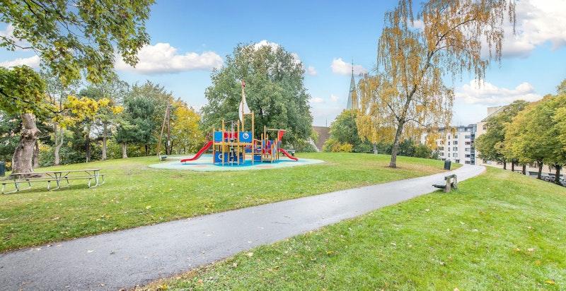 Nærområdet - Stensparken ? nydelige rekreasjonsarealer i nærområdet