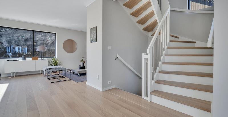 Moderne trapp.