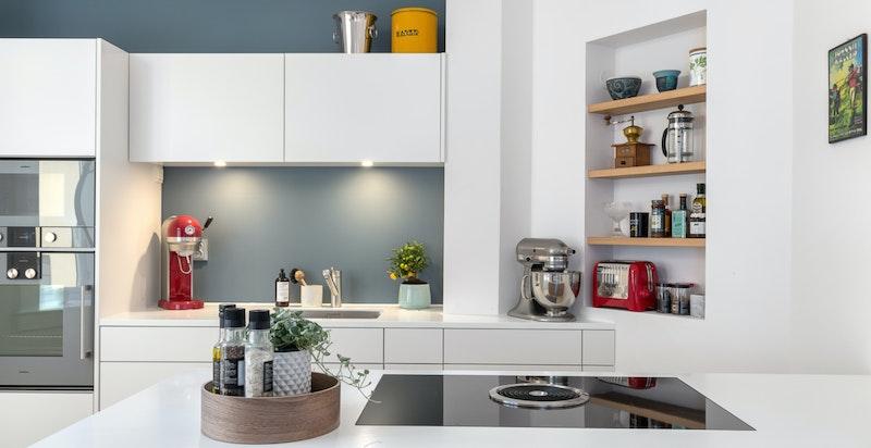 Moderne kjøkken fra 2015.