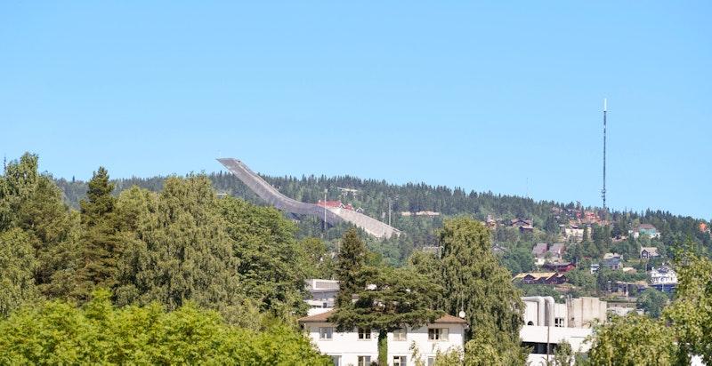 Utsikt til Holmenkollen