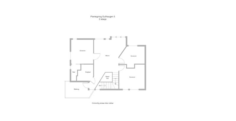 Plantegning - 2. etasje