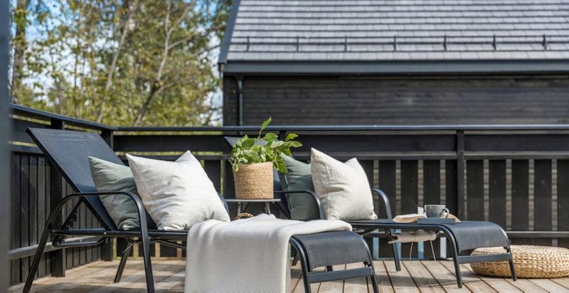 Terrasse - Billingstadåsen 33 A