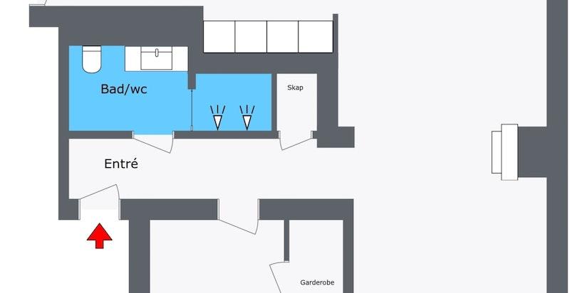 Planskisse 3. etasje.