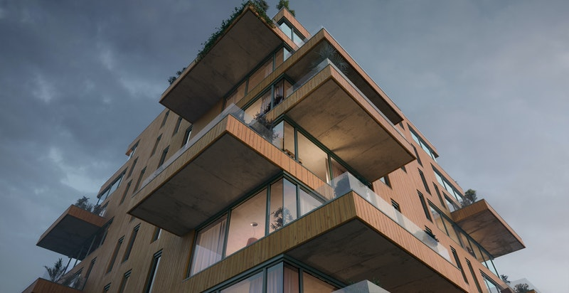 Ski Tårn av Code - Arkitektur på høyt nivå. Solon Eiendom og Code vant Oslo Bys Arkitekturpris i 2016 for sitt Ullevål Tårn. Neste stopp; Ski.