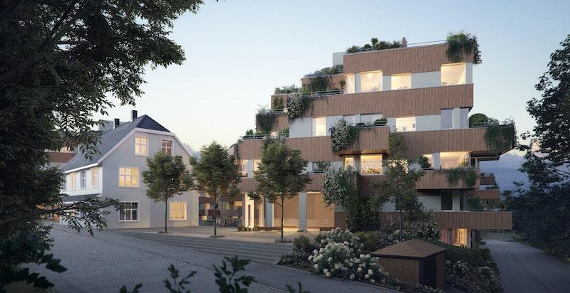 Parkveien Langhus. Registrer din interesse på www.parkv.no