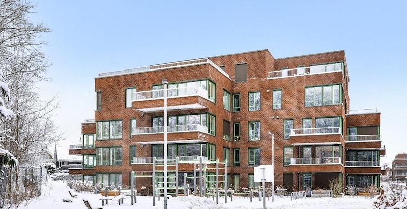 Velkommen til Magasinparken 24, Urban Villas hus F. Bygget er nå ferdigstilt, og vi har fortsatt noen få, flotte, innflyttingsklare leiligheter igjen. www.magasinparken.no