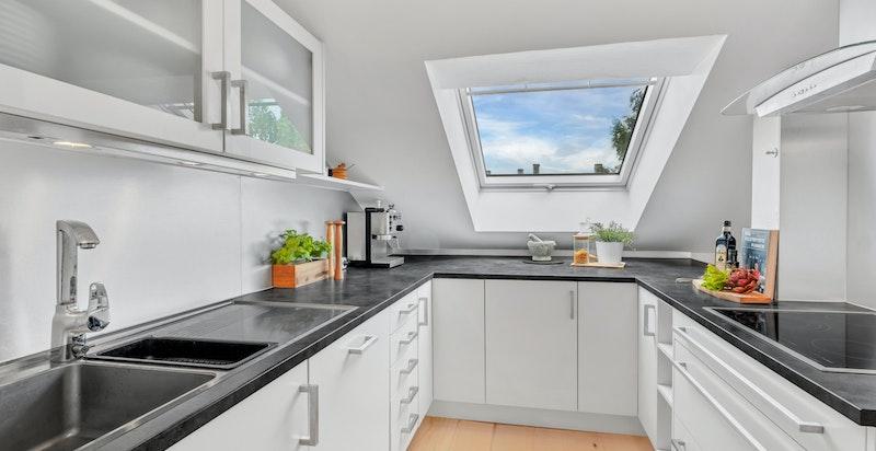 Kjøkken fra 2010 med innredning fra Kjøkkenfornyer'n