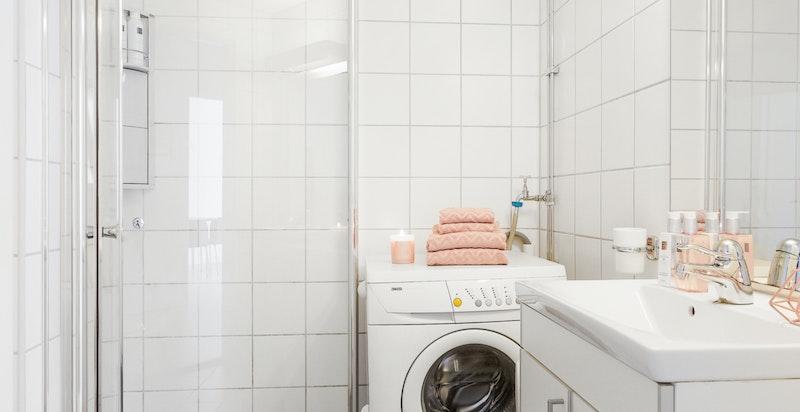 Pent bad fra 2005 (vaskemaskin medfølger)