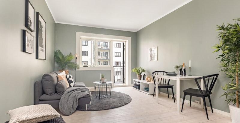 Velkommen til Dælenenggata 11 D - En nyoppusset 3-roms leilighet med tilbaketrukket beliggenhet på Rodeløkka.