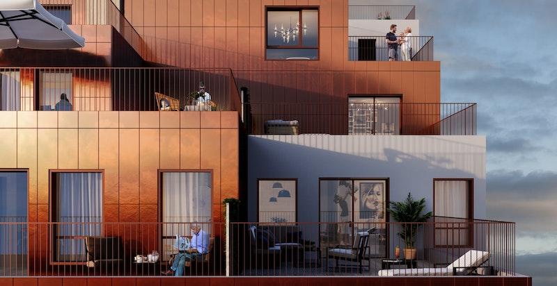 Sentergården terrasse
