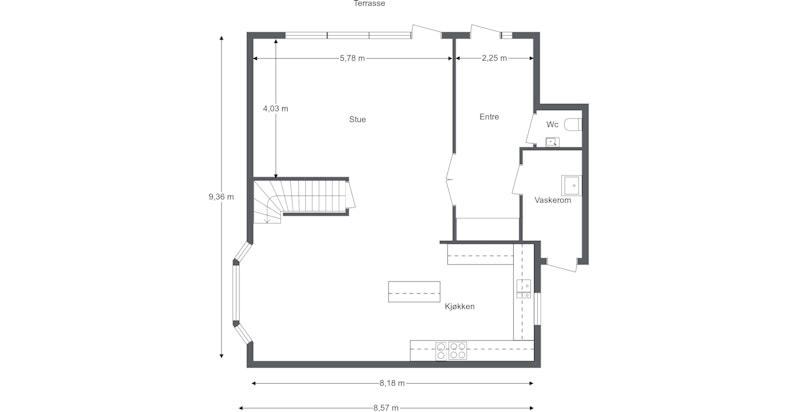 Plantegning 1.etasje
