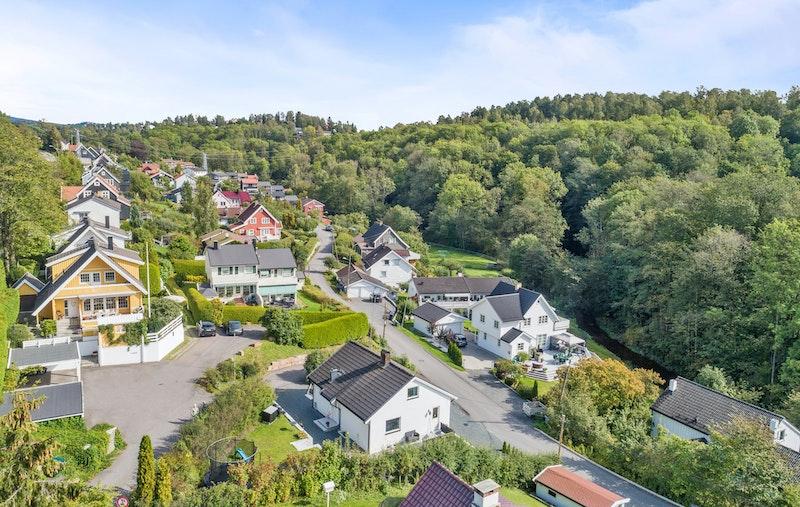 Veletablert og attraktivt boligområde