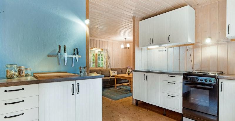 Kjøkkenet.