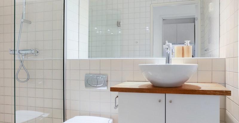 Vegghengt wc og lagring i underskap