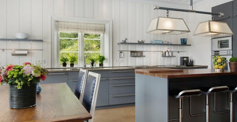 Elegant kjøkken med innredning fra Bulthaup