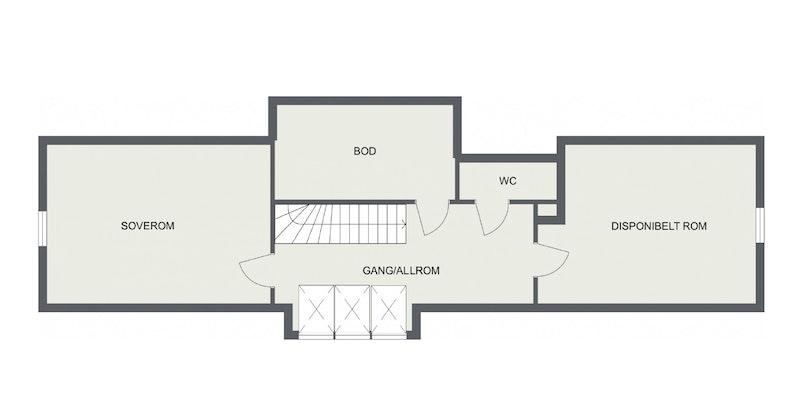 Planskisse loft.